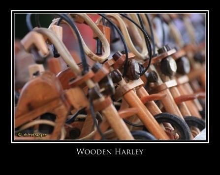 Wooden Harley